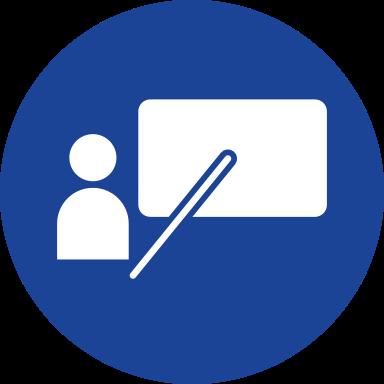 Icon zu den Schulungen