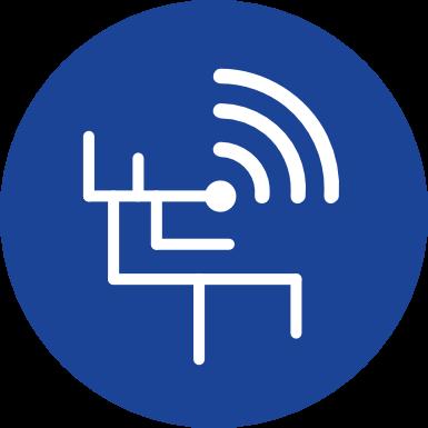 Icon zur Planung von Netzwerken